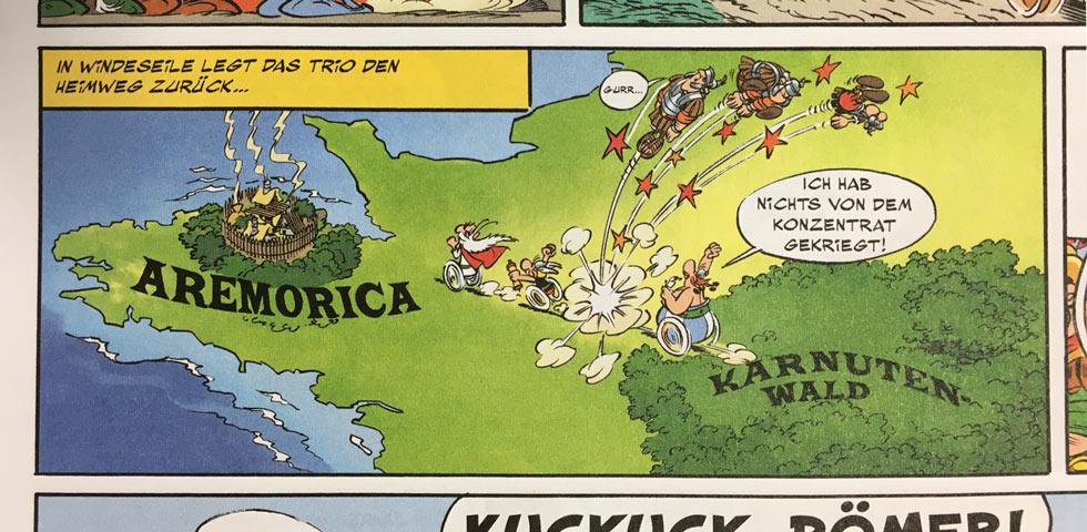 Asterix Band 36 - Ein Ausschnitt aus dem neuen Asterix